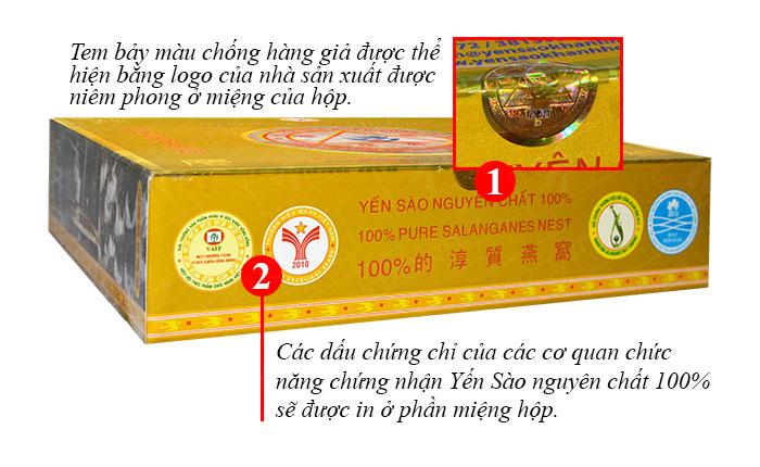 Yến trắng tinh chế Khánh Hòa hộp 50g (H015) Y013 2