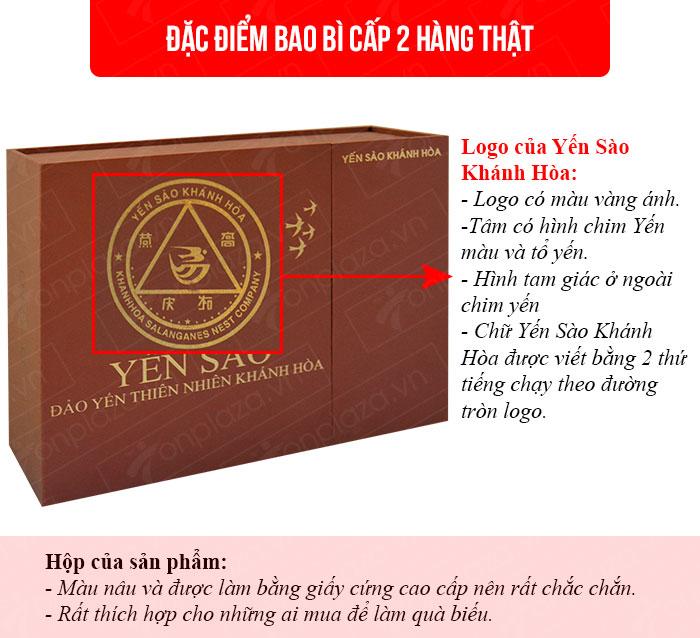 Yến trắng tinh chế Khánh Hòa hộp quà tặng 100g (H014G)  Y017 1
