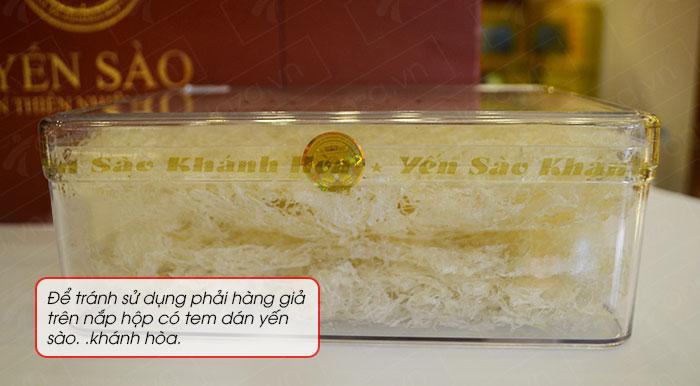 Yến trắng tinh chế Khánh Hòa hộp quà tặng 100g (H014G)  Y017 9