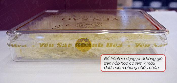 Yến trắng tinh chế Khánh Hòa hộp quà tặng 50g (H015G) Y018 8