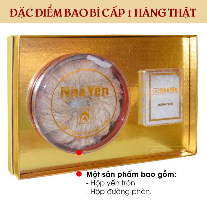 Yến trắng tinh chế thượng hạng 1 (100g/hộp)  Y062 4