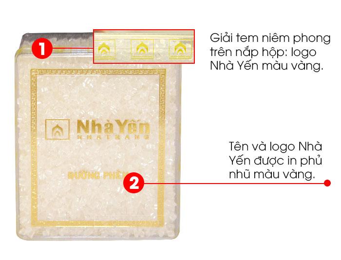 Yến trắng tinh chế thượng hạng 1 (100g/hộp)  Y062 8