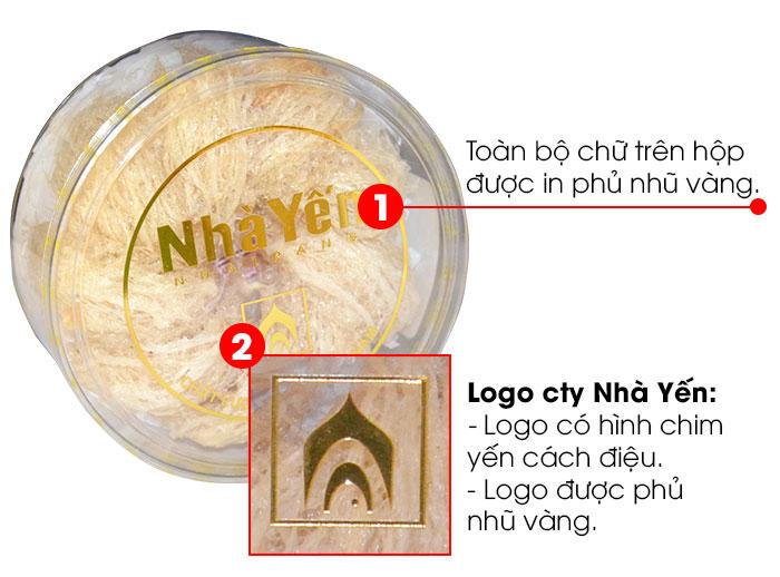 Yến trắng tinh chế thượng hạng 1 (100g/hộp) Y063 4