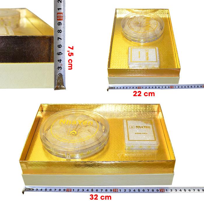 Yến trắng tinh chế thượng hạng 1 (100g/hộp) Y063 8