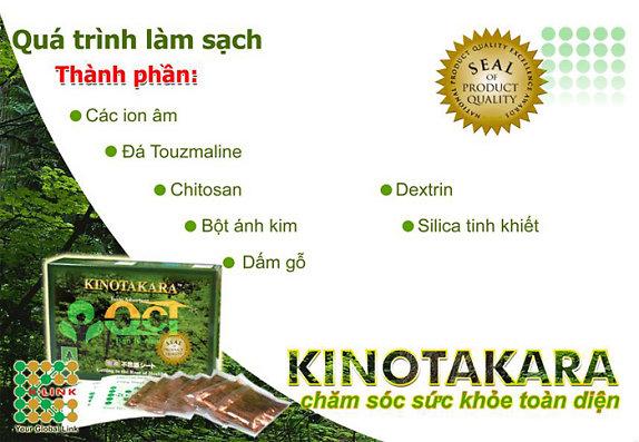 thành phần miếng dán kinotakara