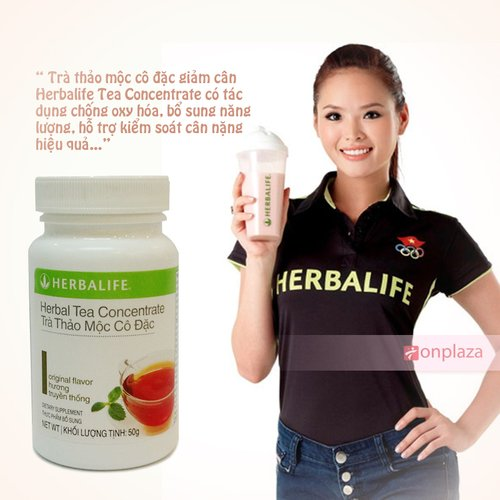 Trà thảo mộc cô đặc giảm cân Herbalife Tea Concentrate
