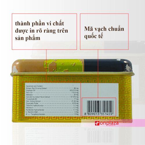 san pham nhan sam nhung huou linh chi, vien uong nhung huou linh chi nhan sam