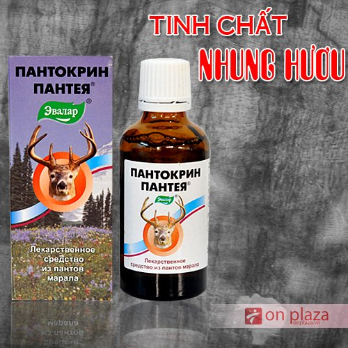 Tinh chất nhung hươu Pantocrin Sibiri Nga
