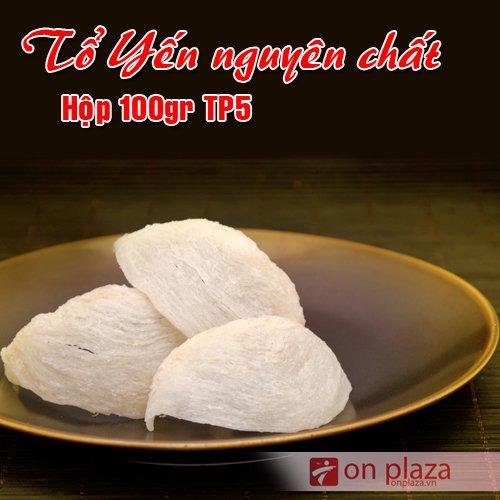 Tổ yến trắng sơ chế 100g TP5 Khánh Hòa