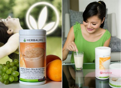 Sua giam can Herbalife Healthy Meal F1