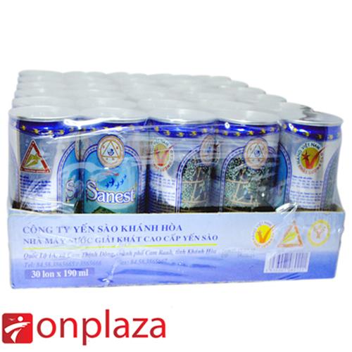 Nước yến Sanest khay 30 lon (K) 190ml