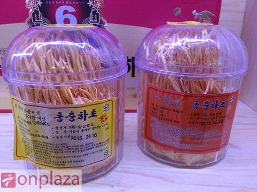 Tem sản phẩm của bông đông trùng hạ thảo