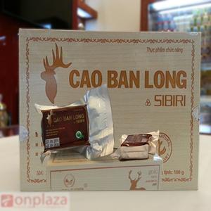 Cao ban long sibisi loại hộp gỗ quà biếu
