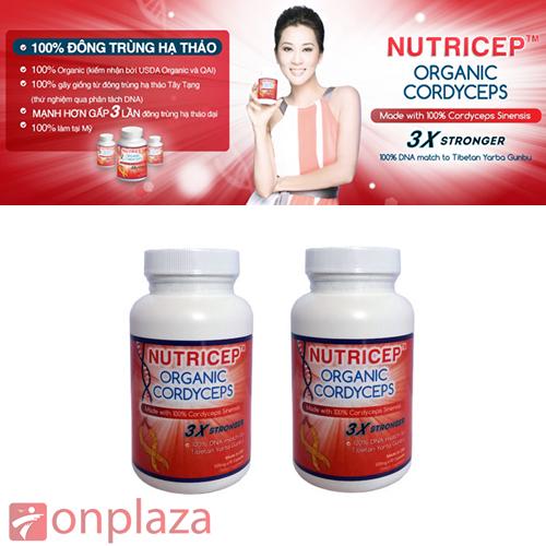 Công dụng của đông trùng hạ thảo nutricep organic cordyceps