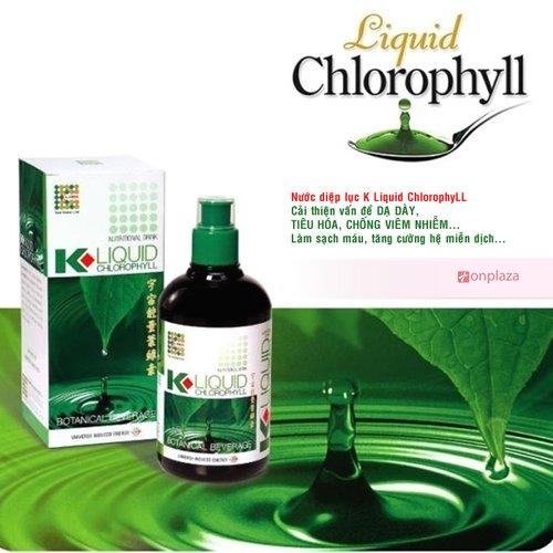 Nước diệp lục Klink Liquid Chlorophyll - thải độc cho cơ thể