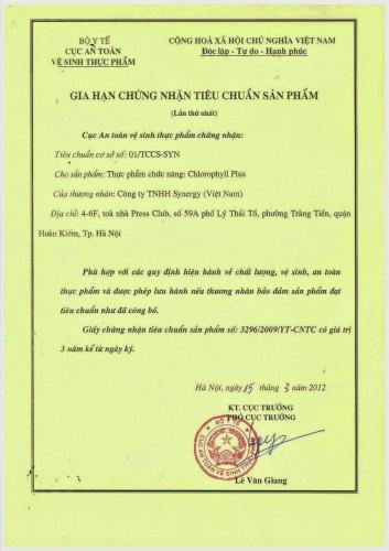 giay-chung-nhan-vsattp-chrolophyll-plus-synergy