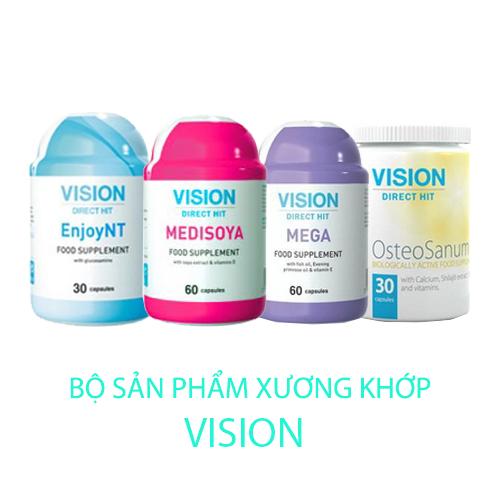 Bộ thực phẩm chức năng Vision hỗ trợ xương khớp